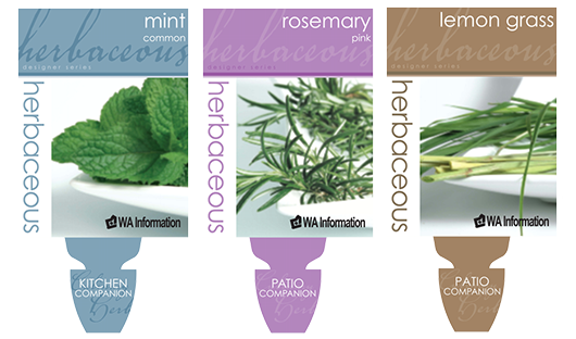 Herbaceous Herbs Designer Series with WA Information